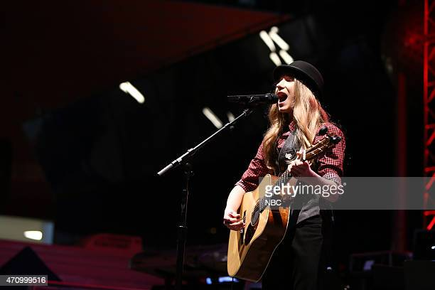 THE VOICE Season 8 Coaches Top 8 Contestants Concert Pictured Sawyer Fredericks