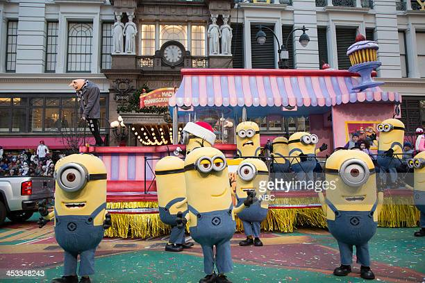 S THANKSGIVING DAY PARADE Season 87 Pictured Despicable Me 2 float