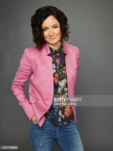 Season 9 of the Emmy Awardwinning show THE TALK Premieres Monday September 10 2018 2 PM ET 1 PM CT/PT on CBS Sara Gilbert shown
