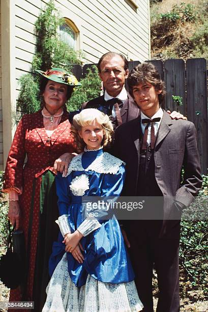 Katharine MacGregor as Harriet Oleson Allison Balson as Nancy Oleson Richard Bull as Nels Oleson Jonathan Gilbert as Willie Oleson