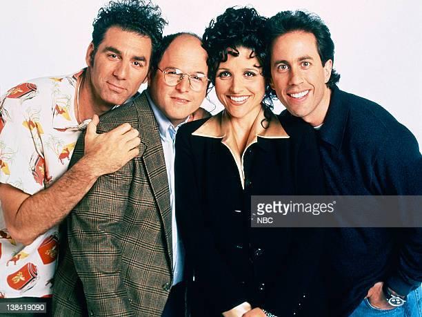 Michael Richards as Cosmo Kramer Jason Alexander as George Costanza Julia LouisDreyfus as Elaine Benes Jerry Seinfeld as Jerry Seinfeld