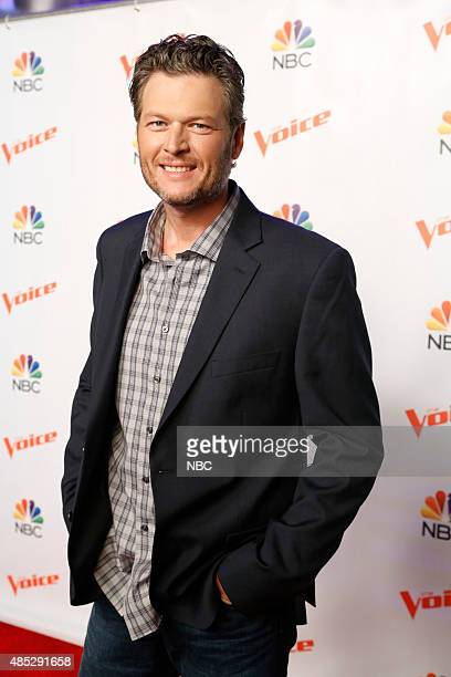 THE VOICE 'Season 9 Press Junket' Pictured Blake Shelton