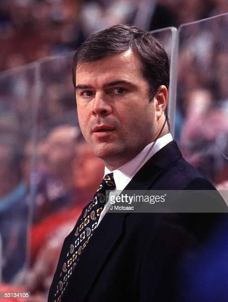 Alain Vigneault Head Coach 1998 NHL HEAD SHOTS MONTREAL CANADIENS