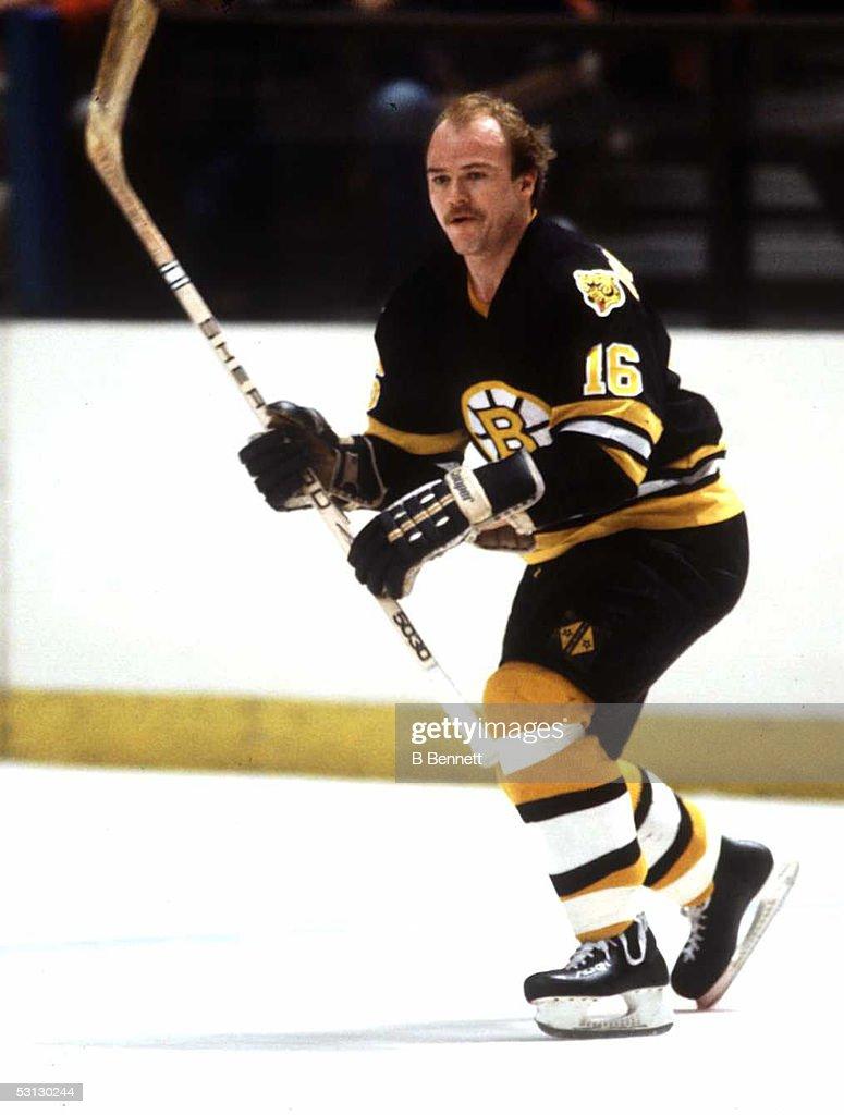 Boston Bruins all-star Rick Middleton.