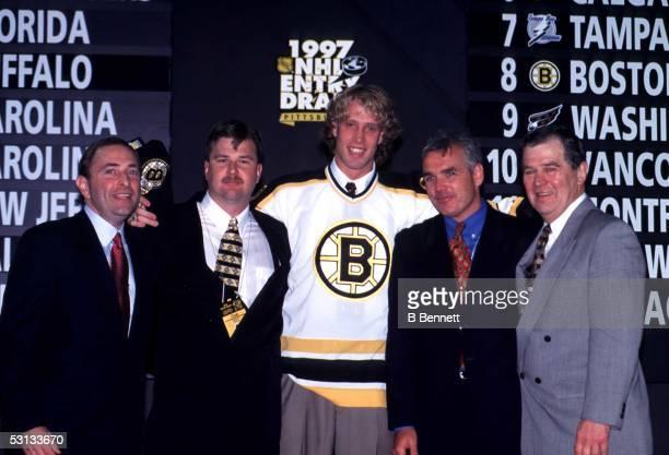 Boston Joe Thornton Number One Pick of the 1997 Entry Draft
