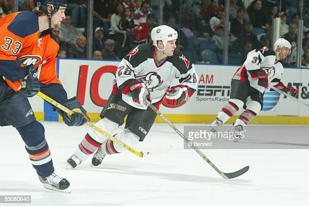 Buffalo Sabres at New York Islanders, January 17, 2004 And Player Jason Botterill.