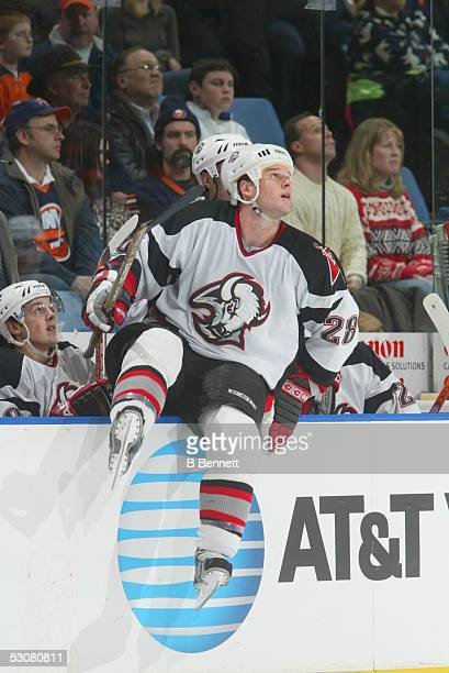 Buffalo Sabres at New York Islanders January 17, 2004 And Player Jason Botterill.