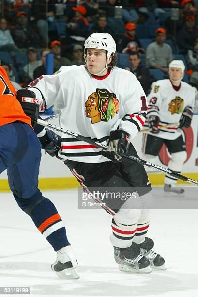 Chicago Blackhawks at New York Islanders December 6, 2003 And Player Tuomo Ruutu.