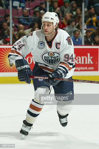 Edmonton Oilers at New Jersey Devils January 5 2004 And Player Ryan Smyth