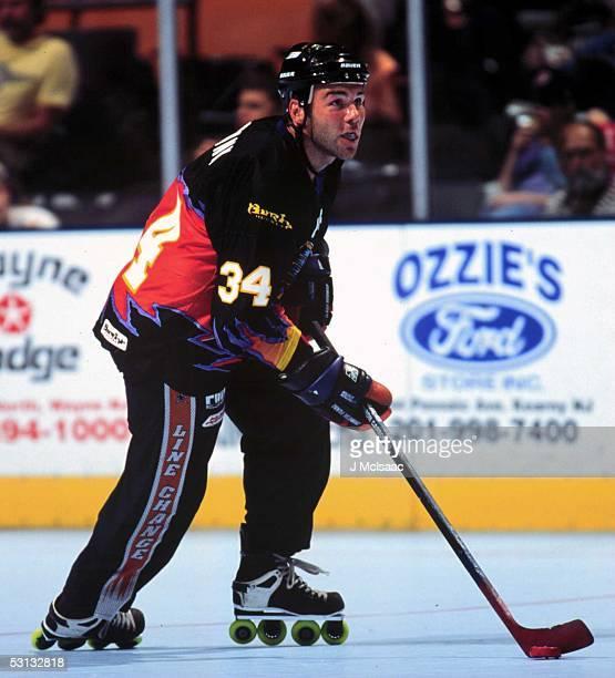 Former NHL player Daniel Shank now with Roller Hockey's Orlando Jackals