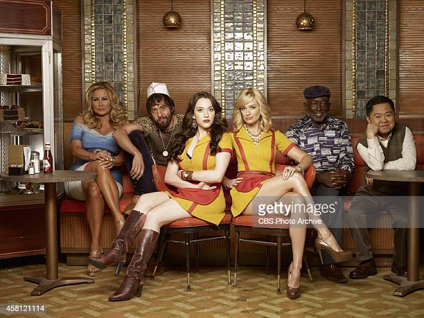 Season four of 2 BROKE GIRLS premieres Monday Oct 27 800830pm ET/PT on the CBS Television Network From left Sophie Oleg Max Black Caroline Channing...