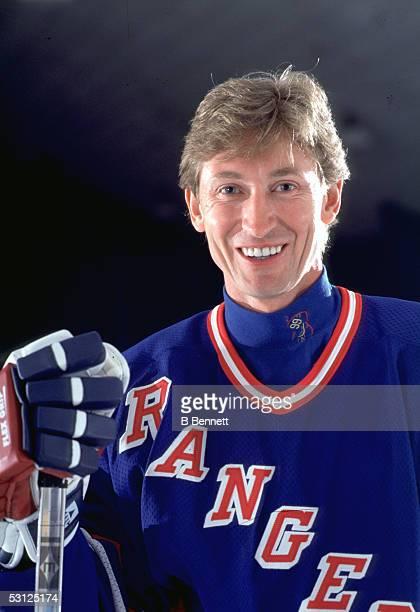 Gretzky And Player Wayne Gretzky