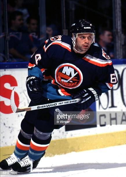 Jimmy Carson of the New York Islanders