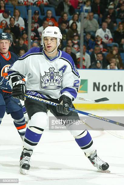 Los Angeles Kings at New York Islanders, February 16, 2004 And Player Luc Robitaille.