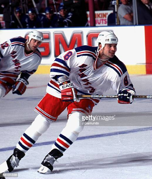 Mike Peluso of the New York Rangers