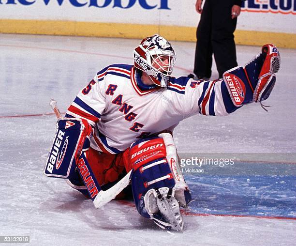 Mike Richter gloves one