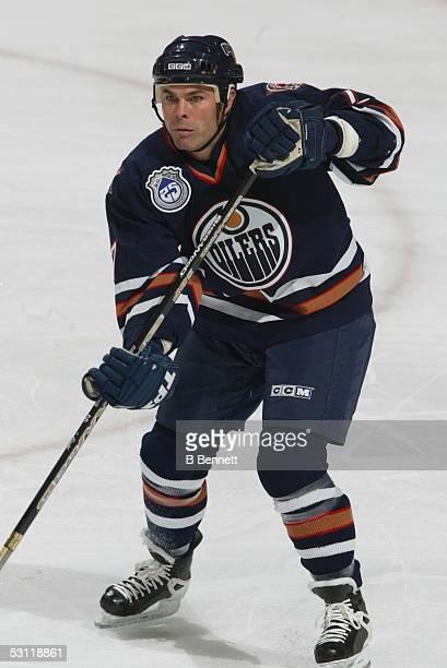 Minnesota Wild at Edmonton Oilers December 3 2003 And Player Adam Oates