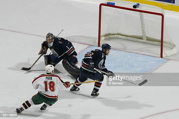 Minnesota Wild at Edmonton Oilers December 3 2003 And Player Scott Ferguson