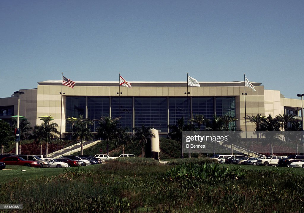 National Car Rental Center Home Of The Florida Panthers News Photo