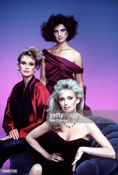 DOLLS Season One 9/23/84 Morgan Fairchild played Racine the ruthless and powerful head of a top modeling agency with two hot clients Taryn Blake and...