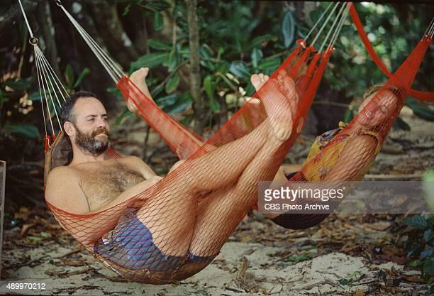 SURVIVOR Season One Pulau Tiga South China Sea Richard Hatch and Susan Hawk May 2000