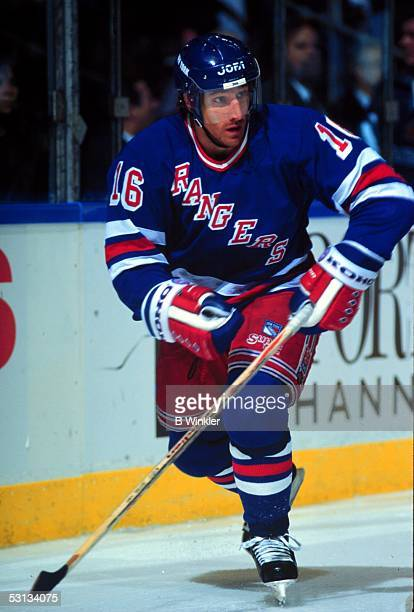 Pat Verbeek of the New York Rangers