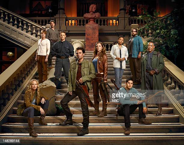 Pilot Pictured Anna Lise Phillips as Maggie Graham Rogers as Danny Tim Guiee as Ben David Lyons as Bass Monroe Billy Burke as Miles Tracy Spiridakos...