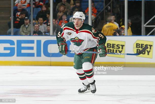 Player Alexandre Daigle of the Minnesota Wild