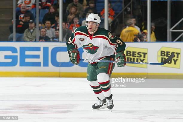 Player Alexandre Daigle of the Minnesota Wild.