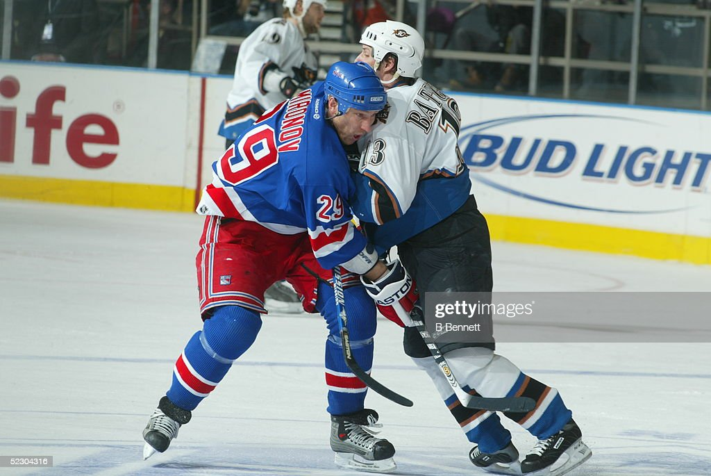 Player Boris Mironov of the New York Rangers. News Photo ...