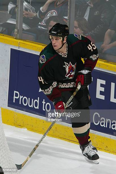 Player Brad Ference of the Phoenix Coyotes