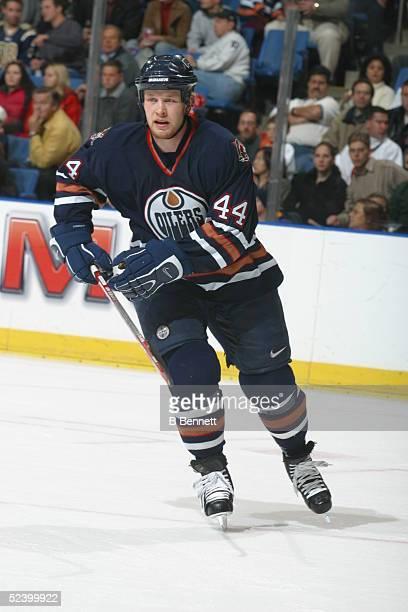 Player Janne Niinimaa of the Edmonton Oilers