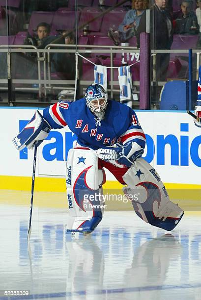 Player Jussi Markkanen of the New York Rangers.