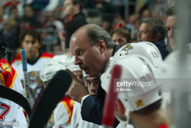 Player Mike Keenan of the Florida Panthers.