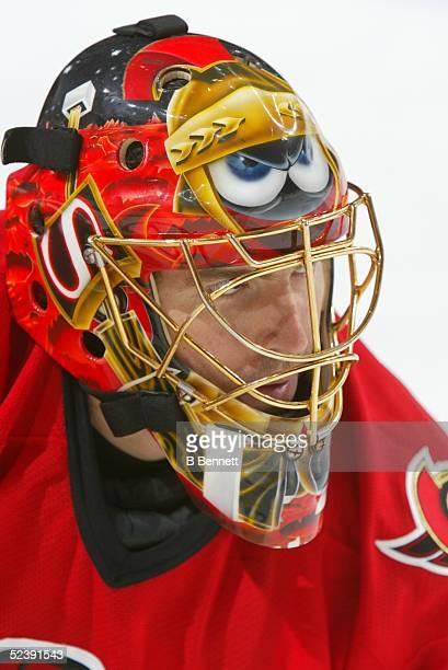 Player Patrick Lalime of the Ottawa Senators.