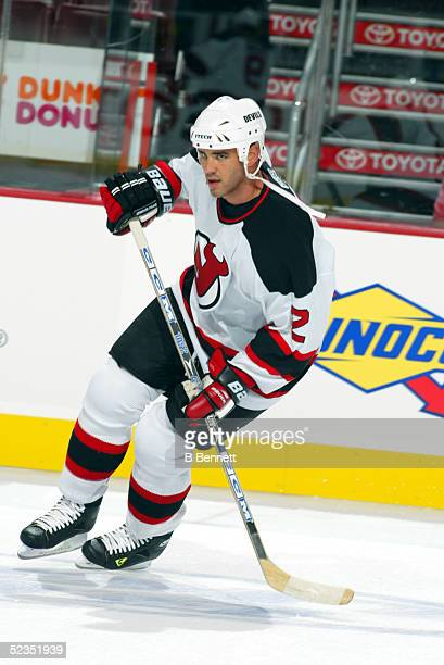 Player Sean Brown of the New Jersey Devils