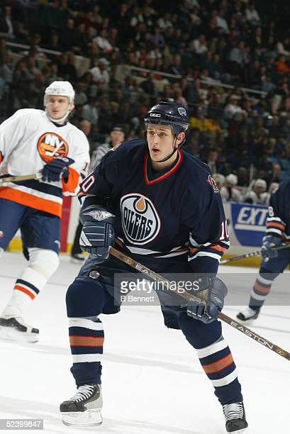Player Shawn Horcoff of the Edmonton Oilers