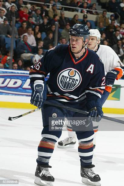 Player Todd Marchant of the Edmonton Oilers