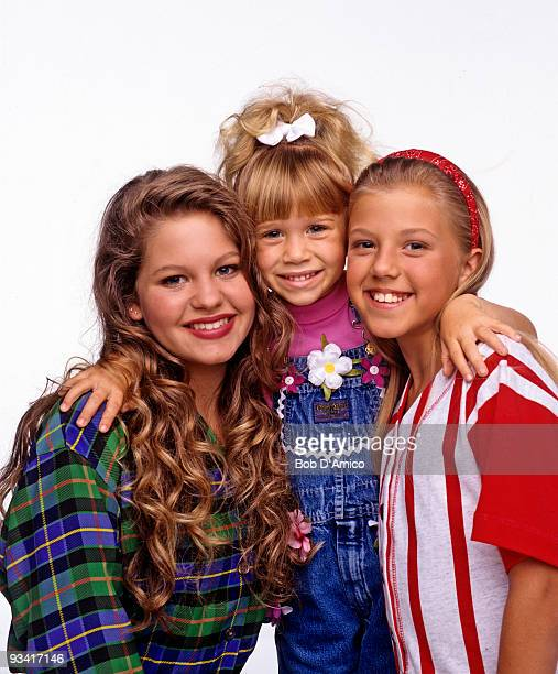 HOUSE Season Seven Gallery 9/14/93 Pictured from left Candace Cameron Mary Kate Olsen Jodie Sweetin