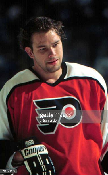 Shawn Antoski of the Philadelphia Flyers