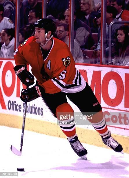 Steve Smith of the Chicago Blackhawks