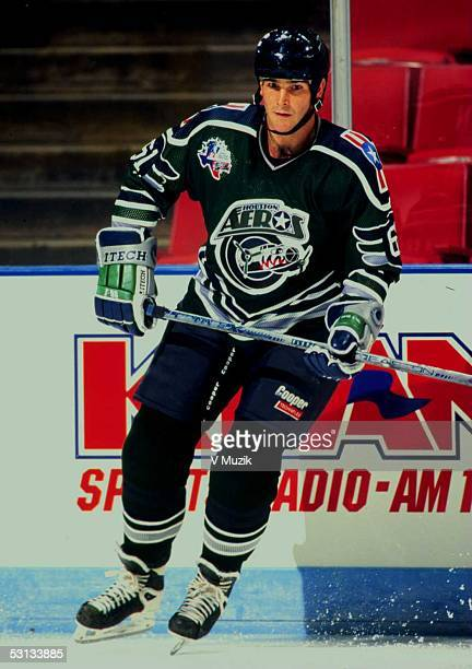 Sylvain Turgeon of the Houston Aeros Sylvain led Houston in goals finished 3rd in points and 3rd in assists