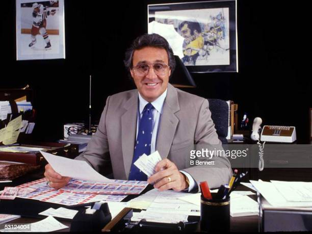 Tampa Bay Lighning General Manager Phil Esposito
