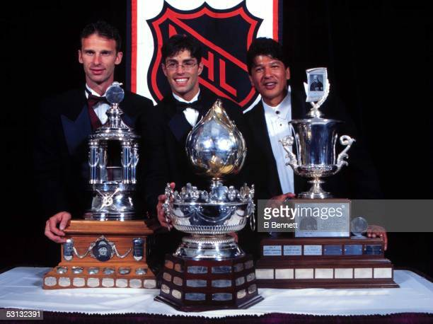 The Buffalo Sabres dominated the 1997 Awards with Dominik Hasek winning the Vezina and Hart trophies Mike Peca taking home the Selke and coach Ted...
