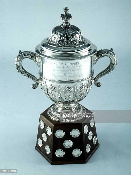 The Clarence S Campbell Bowl the trophy awarded to the team which advances to the Stanley Cup Finals as the winner of the Western Conference