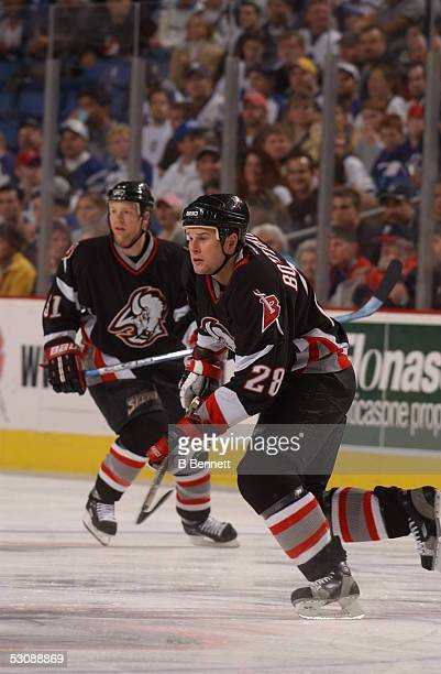 Toronto Maple Leafs at Buffalo Sabres, October 30, 2003 And Player Jason Botterill.