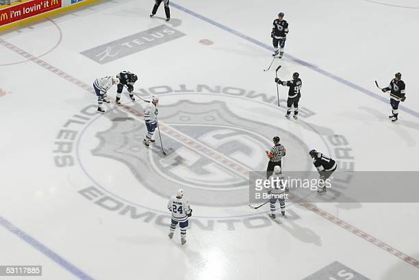 Toronto Maple Leafs at Edmonton Oilers November 20 2003