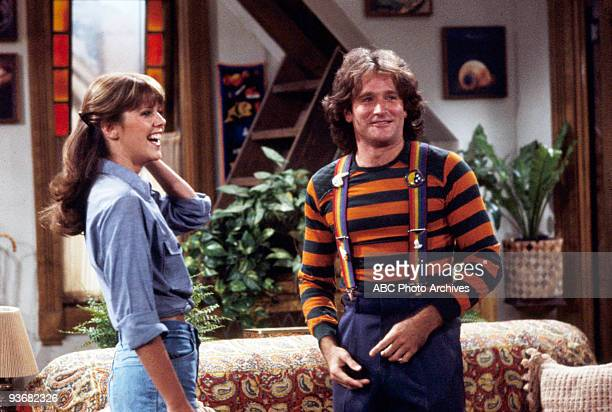 MORK MINDY Season Two Mork Learns to See 1979 Pam Dawber Robin Williams
