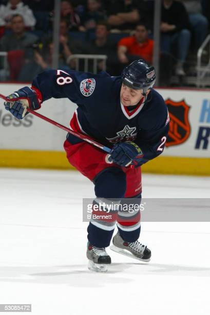 Vancouver Canucks at Columbus Blue Jackets March 6 2004 And Player Tyler Wright