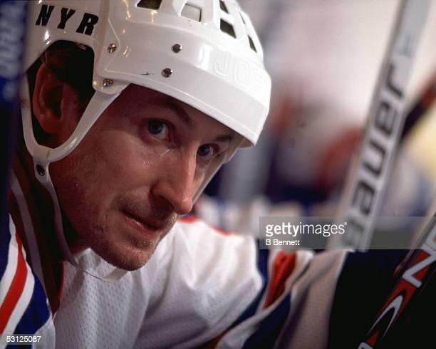 Wayne Gretzky And Player Wayne Gretzky